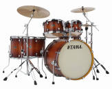 Tama - 5-Piece Silverstar Shell Pack (20,10,12,14,14 Snare) - Antique Brown Burst