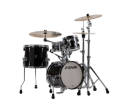 Sonor - AQ2 Safari 4-Piece Drum Kit (16,13,10,13SD) - Transparent Stain Black