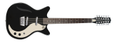 Danelectro - 59 Vintage 12 String Electric Guitar, Left-Handed - Black