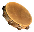 Granite Percussion - 10-inch Wood Frame Tambourine with Natural Head