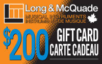 Long & McQuade - Blank Gift Card