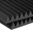 Auralex - Studiofoam 2 inch Deep Wedge (12 Pack) - Charcoal