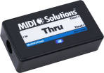 MIDI Solutions - Thru 2-Output Active MIDI Thru Box