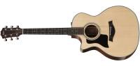 Taylor Guitars - Grand Auditorium Spruce/Sapele Left Acoustic/Electric w/Case