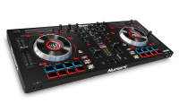 Numark - Mixtrack Platinum 4-Deck DJ Controller with Jog Wheel Display