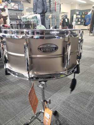 Store Special Product - PEARL MODERN UTILITY 6.5X14 SNARE - STEEL